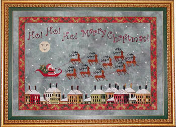 Praiseworthy Stitches ~ Santa's Midnight Flight