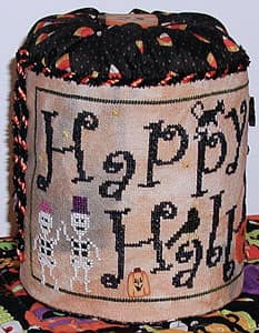 Praiseworthy Stitches ~ Halloween Hop w/JABC Buttons