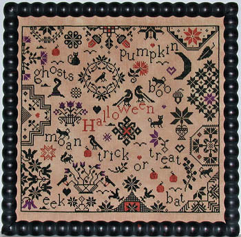 Praiseworthy Stitches ~ Simple Gifts - Halloween
