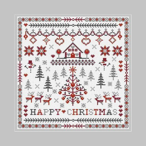 Riverdraft House ~ Happy Christmas Sampler