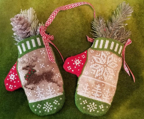 Blackberry Lane Designs ~ Reindeer in Flight