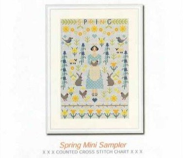 Riverdrift House Needlework ~ Spring Mini Sampler