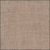 R&R Linen ~ 32ct Creek Bed Brown (various sizes)