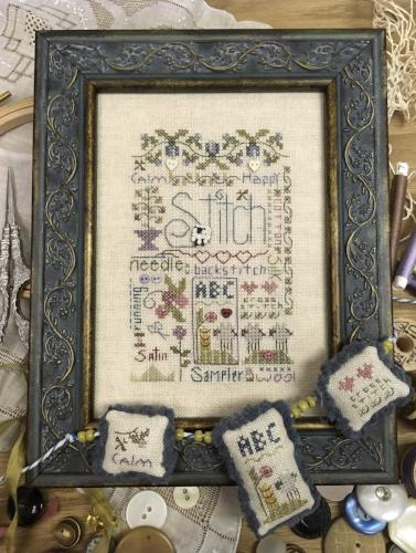 Shepherd's Bush ~ Stitching Notes w/JABC Buttons