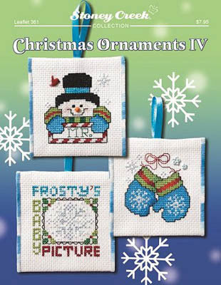 Stoney Creek ~ Christmas Ornaments IV