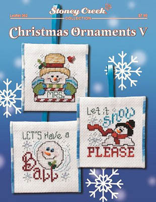 Stoney Creek ~ Christmas Ornaments V