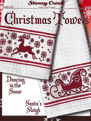 Stoney Creek ~ Christmas Towels  (would make cute & quick ornaments too!)