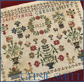 Scarlett House ~ Ceesie Smitt - A Dutch Sampler