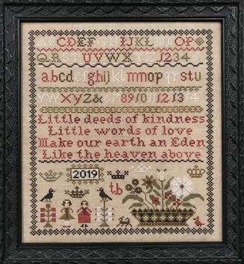 Scarlett House ~  Little Deeds Sampler