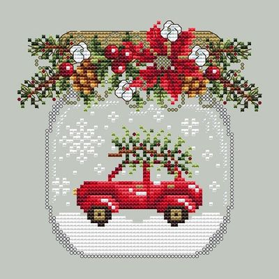 Shannon Christine Designs ~ Car Snow Globe