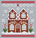 Shannon Christine Designs ~ Set of 3 Gingerbread Houses