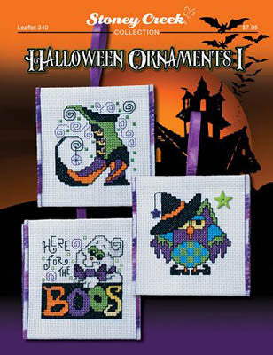 Stoney Creek ~ Halloween Ornaments I