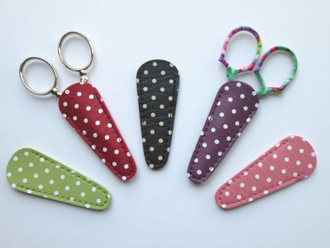 Polka Dot Scissor Sheaths (various colors)