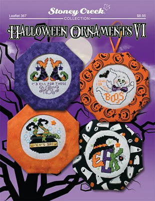 Stoney Creek ~ Halloween Ornaments VI