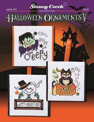 Stoney Creek ~ Halloween Ornaments V