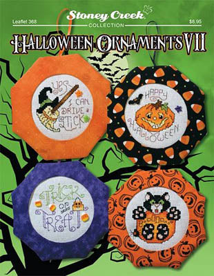 Stoney Creek ~ Halloween Ornaments VII