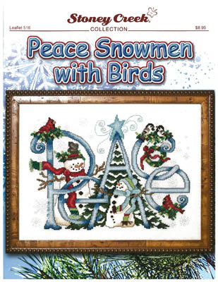 Stoney Creek ~ Peace Snowmen With Birds
