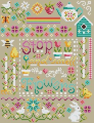 Shannon Christine Designs ~ Pretty Flowers Sampler