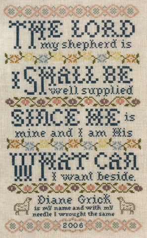 Silver Creek Samplers ~ Lord Is My Shepherd