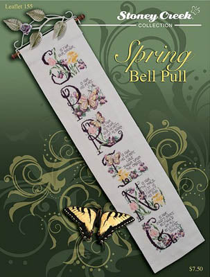 Stoney Creek ~ Spring Bell Pull