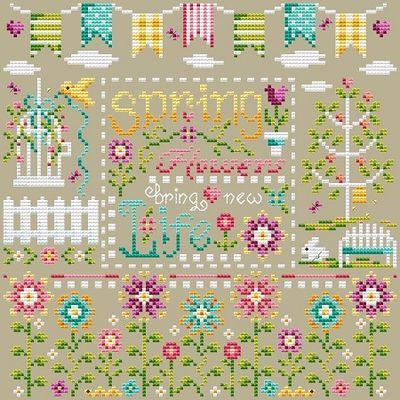 Shannon Christine Designs ~ New Life Sampler