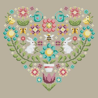 Shannon Christine Designs ~ Spring Heart