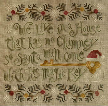 Silver Creek Samplers ~ Santa's Magic Key