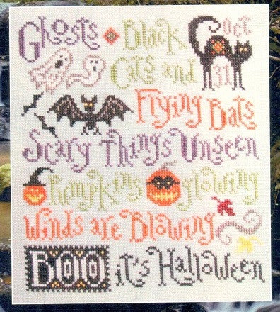 Silver Creek Samplers ~ Scary Things October Brings