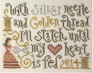 Silver Creek Samplers ~ Stitching Feeds My Heart