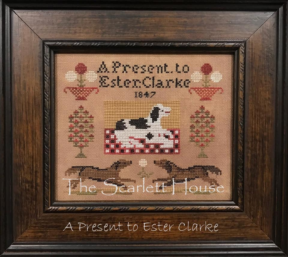 Scarlett House ~ A Present To Ester Clarke