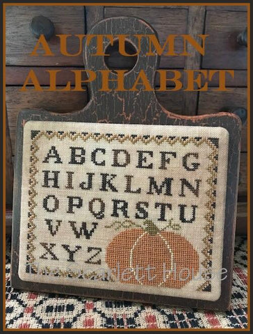 Scarlett House ~ Autumn Alphabet
