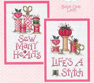 Sue Hillis Designs ~ Hearts & Spools