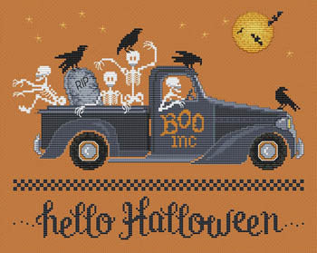 Sue Hillis Designs ~ Hello Halloween