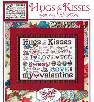 Sue Hillis Designs ~ Hugs & Kisses for my Valentine