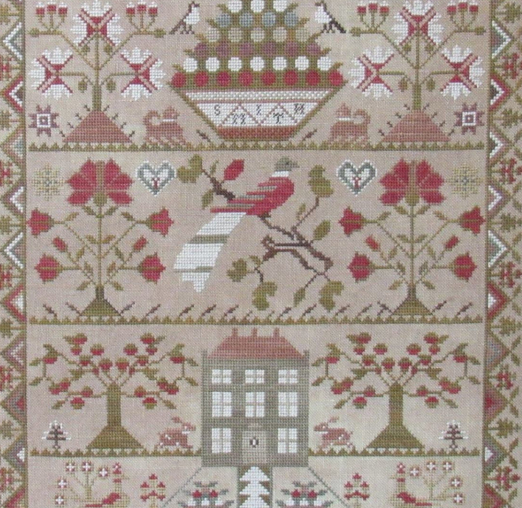 The Scarlett House - Smith Sampler