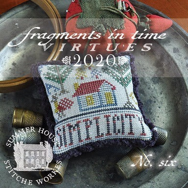 Summer House Stitche Workes ~ Fragments In Time 2020 - no. 6 Simplicity