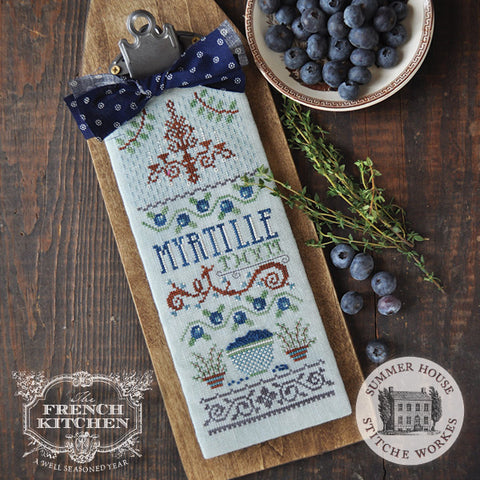 Summer House Stitche Workes ~ [The French Kitchen] Myrtille et Thym [Blueberry & Thyme]