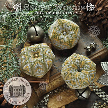 Summer House Stitche Workes ~ Snowy Woods