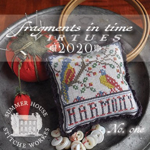 Summer House Stitche Workes ~ Fragments In Time 2020 - no. 1