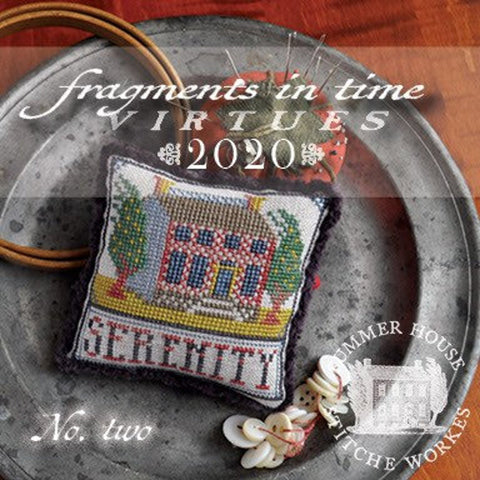 Summer House Stitche Workes ~ Fragments In Time 2020 - no. 2
