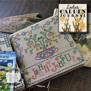 Summer House Stitche Workes ~ Ladies Garden Journal #5 - Johnny Jump Up