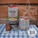 Summer House Stitche Workes ~ Liberty Hill Farms Pattern & Flower Pins *LIMITED # AVAILABLE!