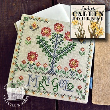 Summer House Stitche Workes ~ Ladies Garden Journal #6 - Mari Gold