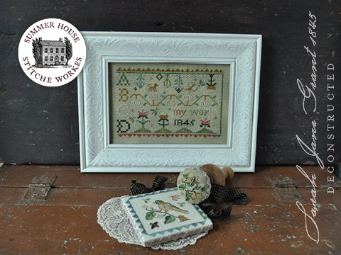 Summer House Stitche Workes ~ Sarah Jane Deconstructed