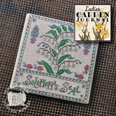 Summer House Stitche Workes ~ Ladies Garden Journal #3 - Solomon's Seal