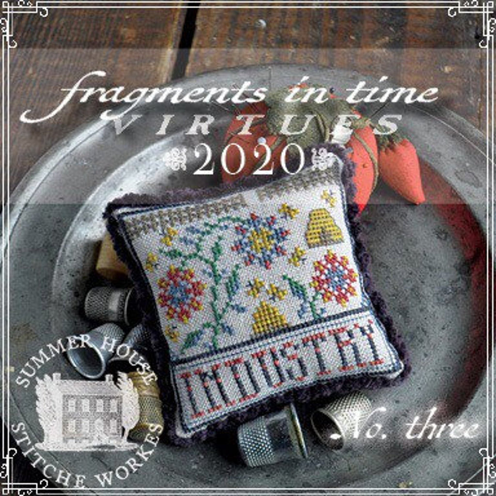 Summer House Stitche Workes ~ Fragments In Time 2020 - no. 3