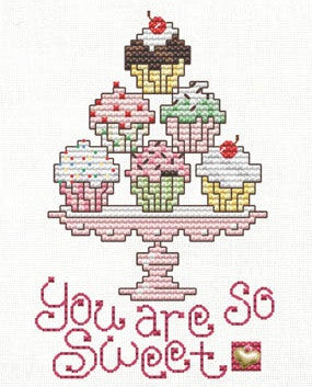 Sue Hillis Designs ~ You Are So Sweet w/charm