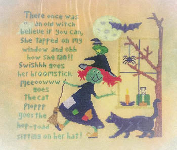 Sister Lou Stitches ~ Run Witchy Run