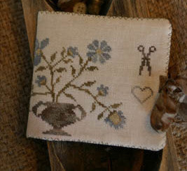 Stacy Nash Primitives ~ Dogwood Farms Needle Book