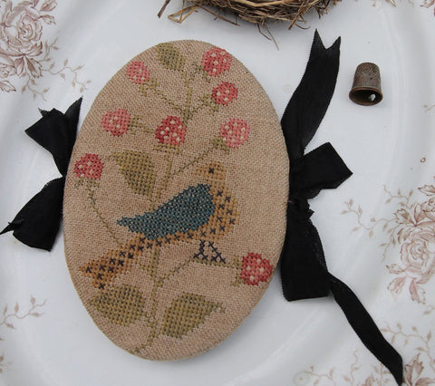 Stacy Nash Primitives ~ Feathered Nest Pin Book